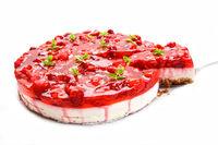 rasperry cake