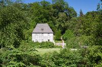 Goethe garden house at the Park an der Ilm
