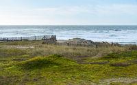 Coastal landscape in Brittany, France