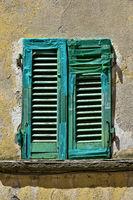 repaired window shutter