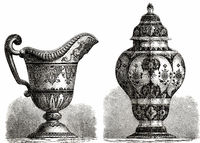 Faience by the Nevers manufactory