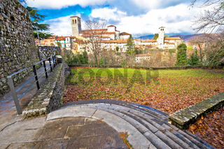 Italian heritage in Cividale del Friuli ancient skyline view
