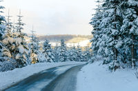 sauerland in  winter