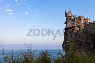 view of Swallow Nest Castle on Aurora Cliff