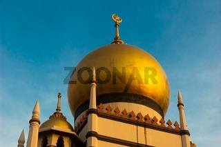 Golden Dome, Sultan Mosque Singapore