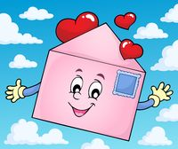 Valentine envelope theme image 2