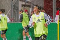 Frauenfussball Deutschland-Norwegen
