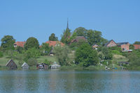 Village of Wustrow,Mecklenburg Lake District,Germany