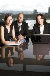 Businessteam drei Personen
