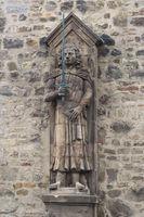 Halle - Roland statue, Germany