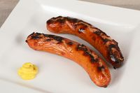 grilled polish sausage