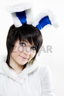 Easter Bunny woman
