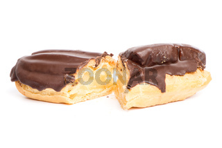 Chocolate eclair pastry