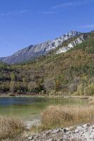 lake Terlago in Trentino