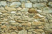 An old brick wall.
