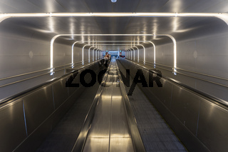 Rolltreppen im Hauptbahnhof in Oslo