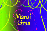 Mardi Gras holiday thematic picture