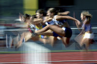 Track and Field: Hurdles girls