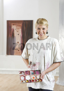 Junge Malerin