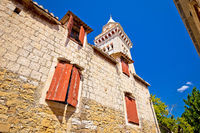 Kastel Stafilic church and landmarks view