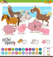 game of counting animals