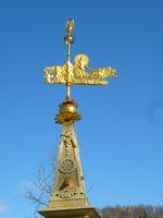 Wind indicator of the multifunctional sundial in Swabian Gmünd