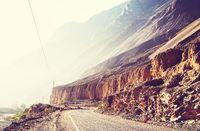 Canyon in Peru