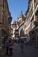 Pedestrianized Rue des Marchands