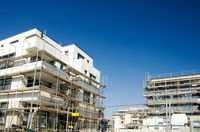 construction site housing