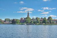 Village of Malchow in Mecklenburg Lake District,Mecklenburg western Pomerania,Germany