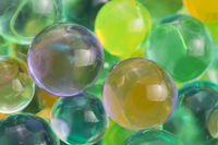 Color balls, hydrogel beads