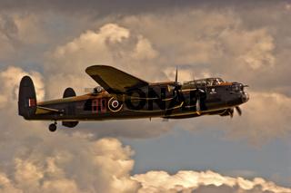 UK Duxford Lancaster Bomber