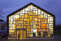 illuminated museum Plagiarius, Solingen, Bergisches Land, North Rhine-Westphalia, Germany, Europe
