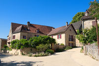 Village Montfort in French Dordogne