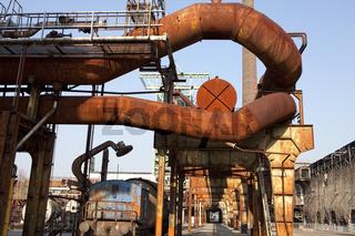 Henrichshuette steel works, Hattingen, Germany