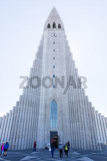Hallgrimskirkja cathedral - Iceland