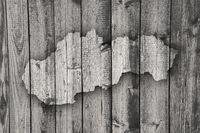 Karte der Slowakei auf verwittertem Holz - Map of Slovakia on weathered wood