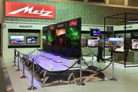 Flachbildschirme der Firma Metz auf der Internationalen Funkauss