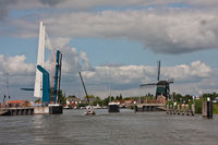 bascule bridge in the Netherlands