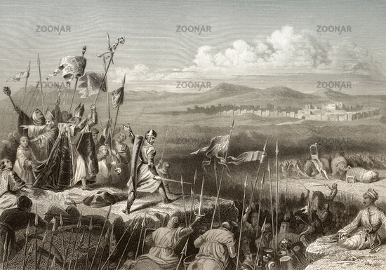 The Battle of Antioch on the Meander, 1211