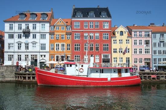 Nyhavn Historic Harbor Copenhagen