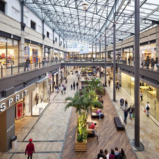 shopping centre CentrO, Oberhausen, Ruhr Area, North Rhine-Westphalia, Germany, Europe