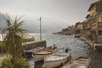 Limone sul Garda  at lake Garda