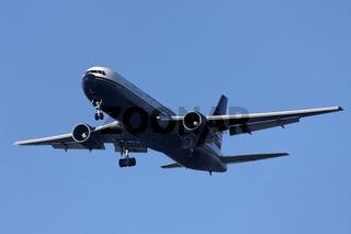 North American - Boeing 767 beim Landeanflug
