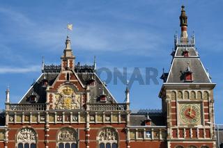 Bahnhof 001. Amsterdam. Niederlande