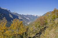 Risser valley in autumn