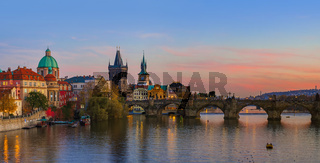 Cityscape of Prague - Czech Republic