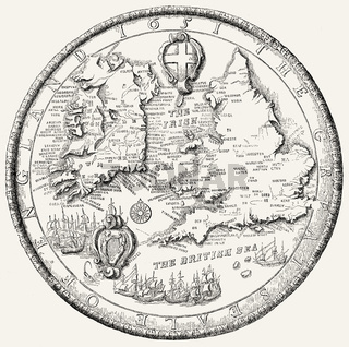 The Second Great Seal of England, 1651