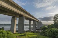 Orwell Bridge spanning the River Orwell