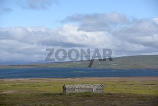 Hütte am Breidafjördur, Island